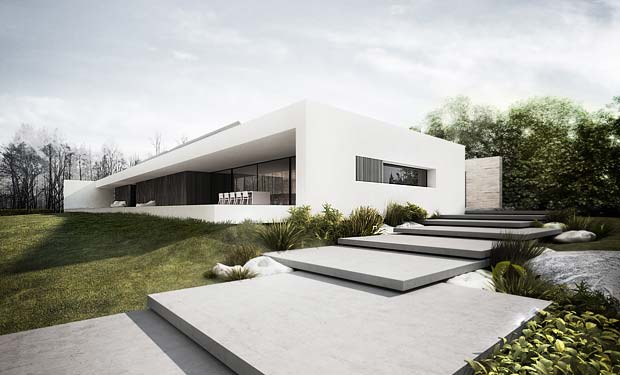 Another minimal house expressing awe for Minimal design house