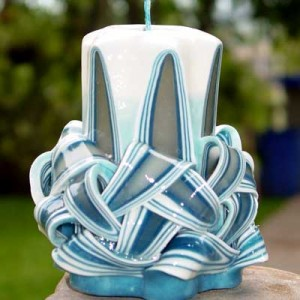 Hand-Carved Aromatic Candle